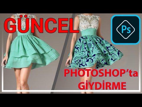 Photoshop Ile Kırışık Kumaşa Desen Nasıl Giydirilir? Photoshop'ta Giydirme / Yusuf PEHLİVAN (GÜNCEL)