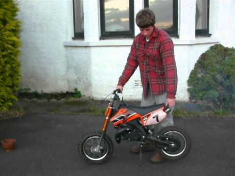 50cc cobra mini dirt bike for sale youtube. Black Bedroom Furniture Sets. Home Design Ideas