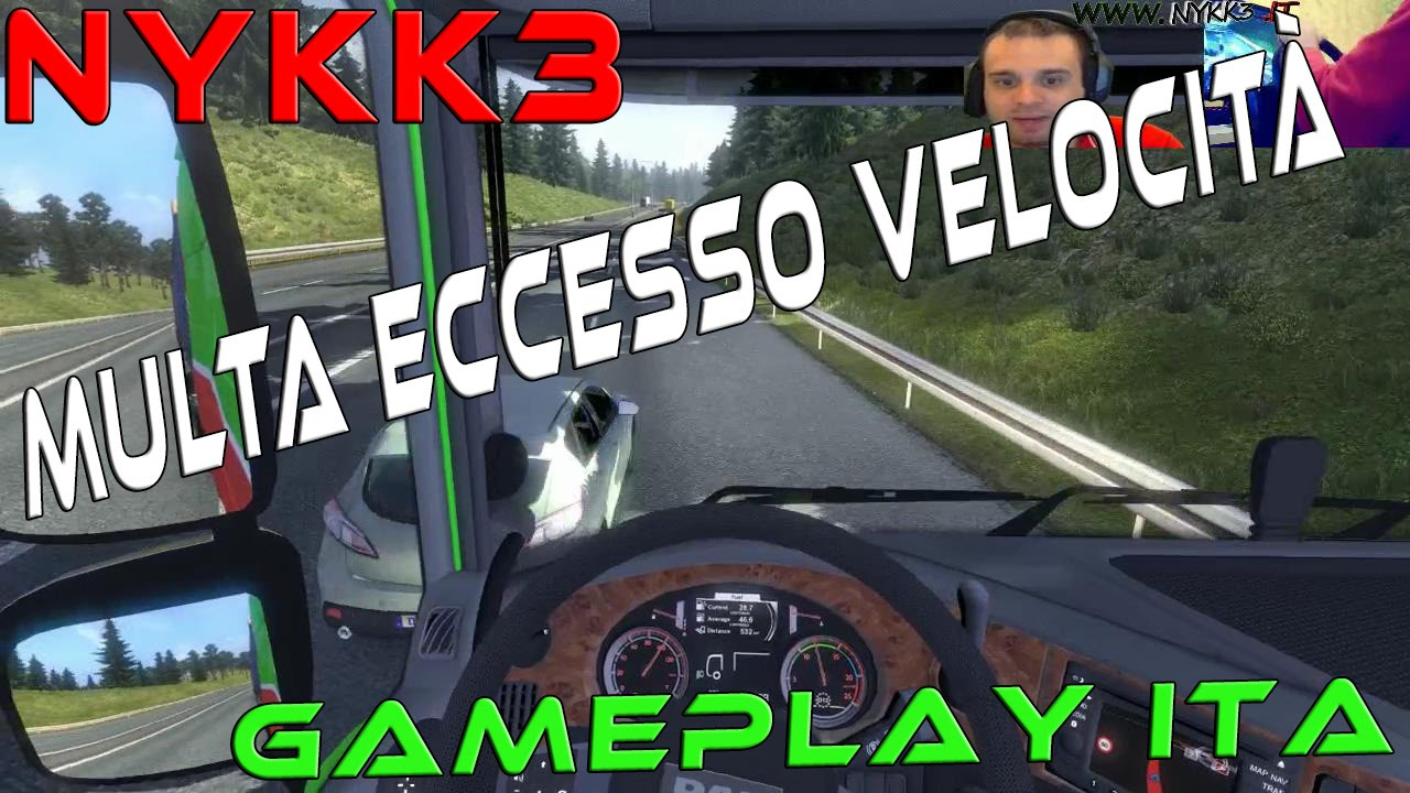 euro truck simulator 2 gameplay ita hd multa per
