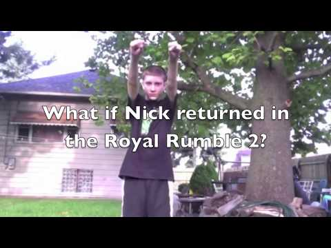 xTWEz Conspiracy 1: What if Nick was in the Royal Rumble 2?