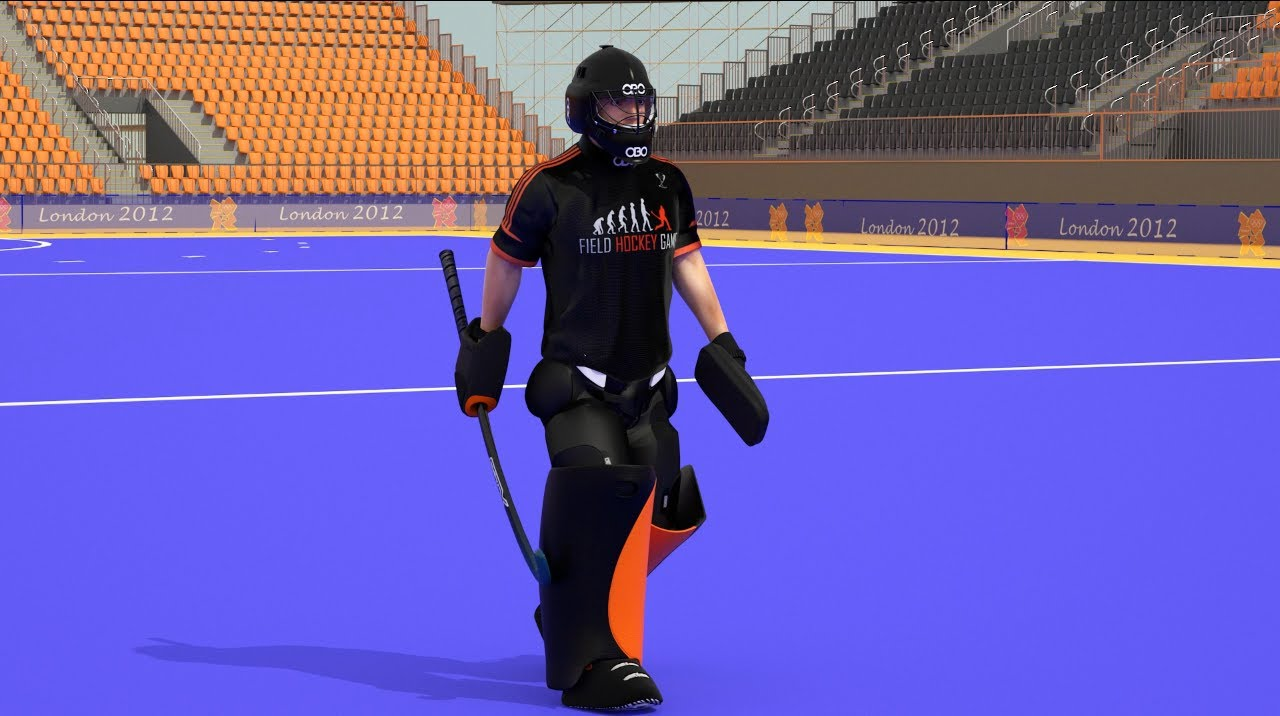 The Field Hockey Game Goalkeeper Walking Cycle Youtube