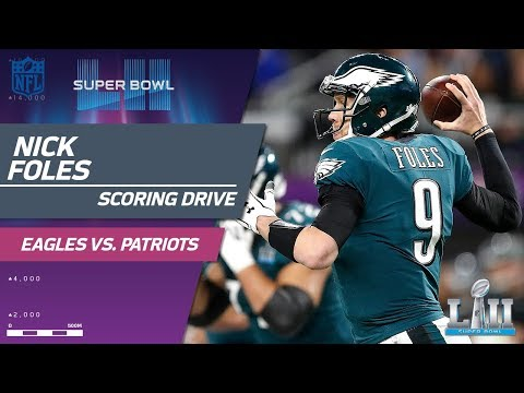 Philly Draws First Blood on Opening Drive! | Eagles vs. Patriots | Super Bowl LII NFL Highlights