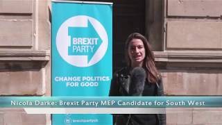BREXIT Party MEP Candidate's Nicola Darke & Ann Tarr visit Gloucester