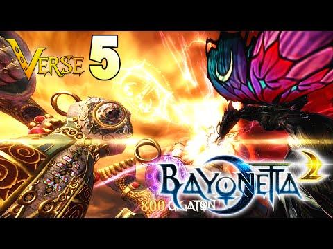 GIANT BATTLES? ~ Bayonetta 2 Ep. 5 (CHAPTER 4) - Blind Run