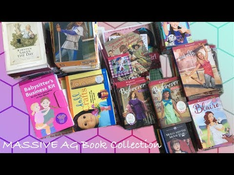 My MASSIVE American Girl Doll Book Collection ~ June 2019