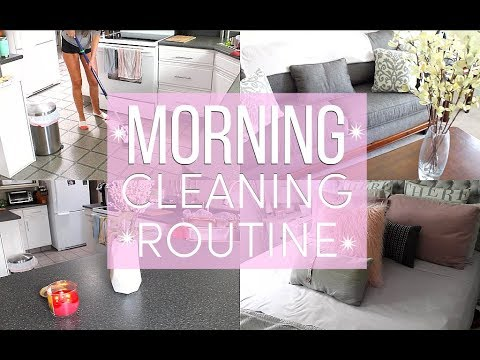 MORNING CLEANING ROUTINE 2018  Janna Christy