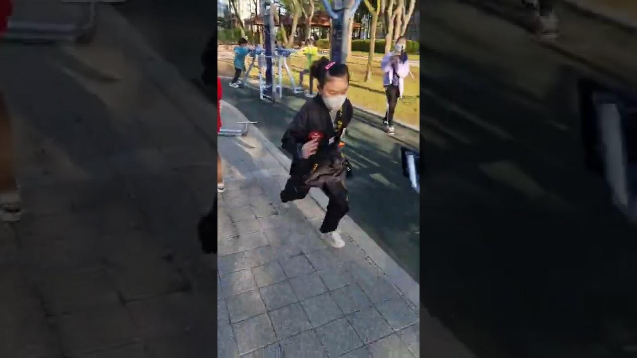 대한민국 초등학생 격투 실력