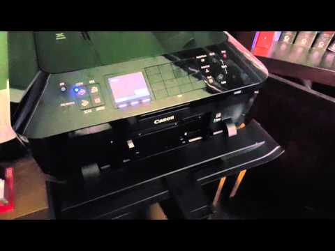 Disc printing with the Canon MX922