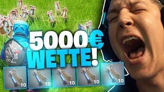 Granaten Challenge in Fortnite | 5000€ Wette | SpontanaBlack