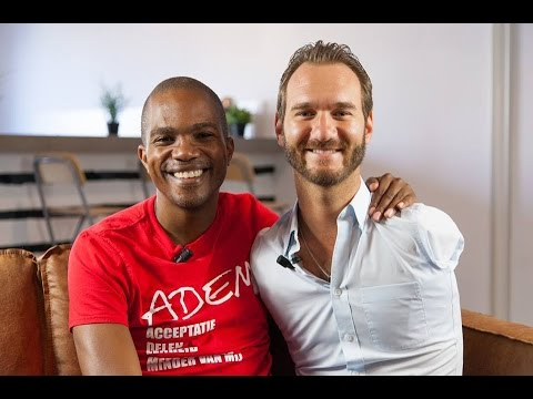 G-time TV interview met Nick Vujicic
