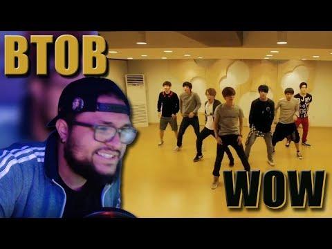 BTOB(비투비) - WOW Dance Practice REACTION!!! | Never A Dull Moment LOL
