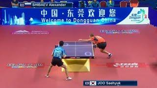 Alexander Shibaev vs Joo Se Hyuk | Asia-Euro Stars Challenge 3:0. Пустячок, но приятно. Последнее очко матча вообще фантастика
