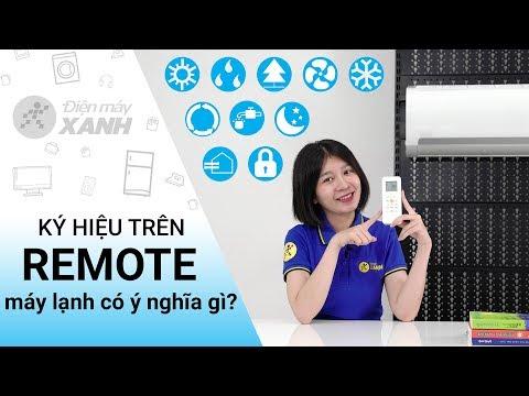 Giải mã ý nghĩa ký hiệu trên remote máy lạnh!