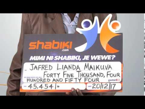 shabiki Jackpot Mbao 033 Winner - Jafred Lianda