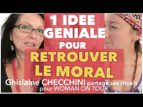 1 idée géniale pour RETROUVER LE MORAL, interview de Ghislaine CHECCHINIde YouTube · Durée:  5 minutes 44 secondes