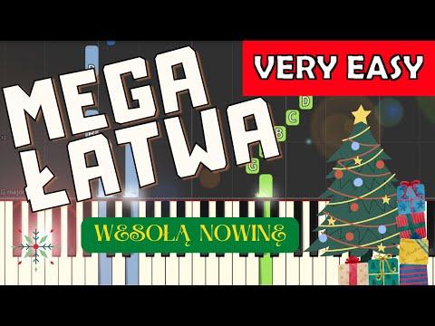 Wesołą nowinę - Piano Tutorial (MEGA ŁATWA wersja)