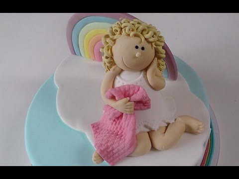 Regenbogen Figur Aus Fondant Deko Fur Motivtorte How To Make