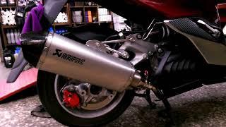 蠍子管停產鐳刻鈦管for 125cc 300cc 有消音塞版