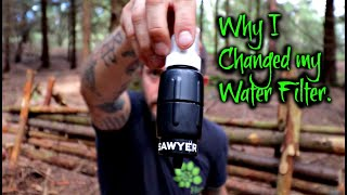 Taking a Look at my New Water Filter for Hiking and Camping.
