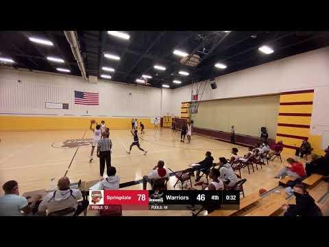 Springdale vs. anne arundel christian school