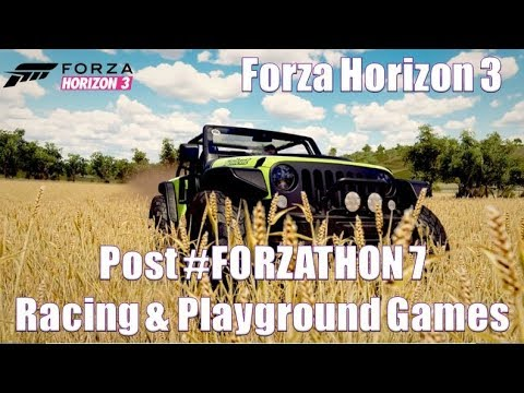 Forza Horizon 3 POST #FORZATHON #7 Racing and Playground Games