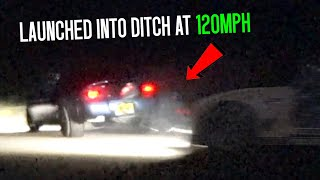 Street racers COLLIDE at over 100mph (505 Cash Days)