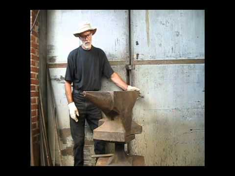 283 kg / 622 lb North German style double horn Anvil