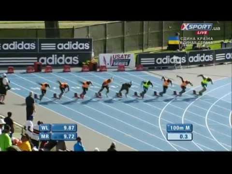 Fenomenal Nesta Carter. 100m. Adidas GP. New York-2014