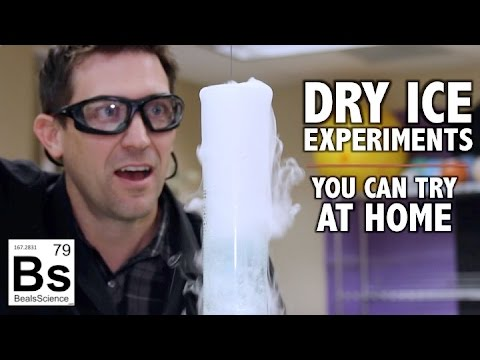 Dry Ice Experiments - You Can Try at Home