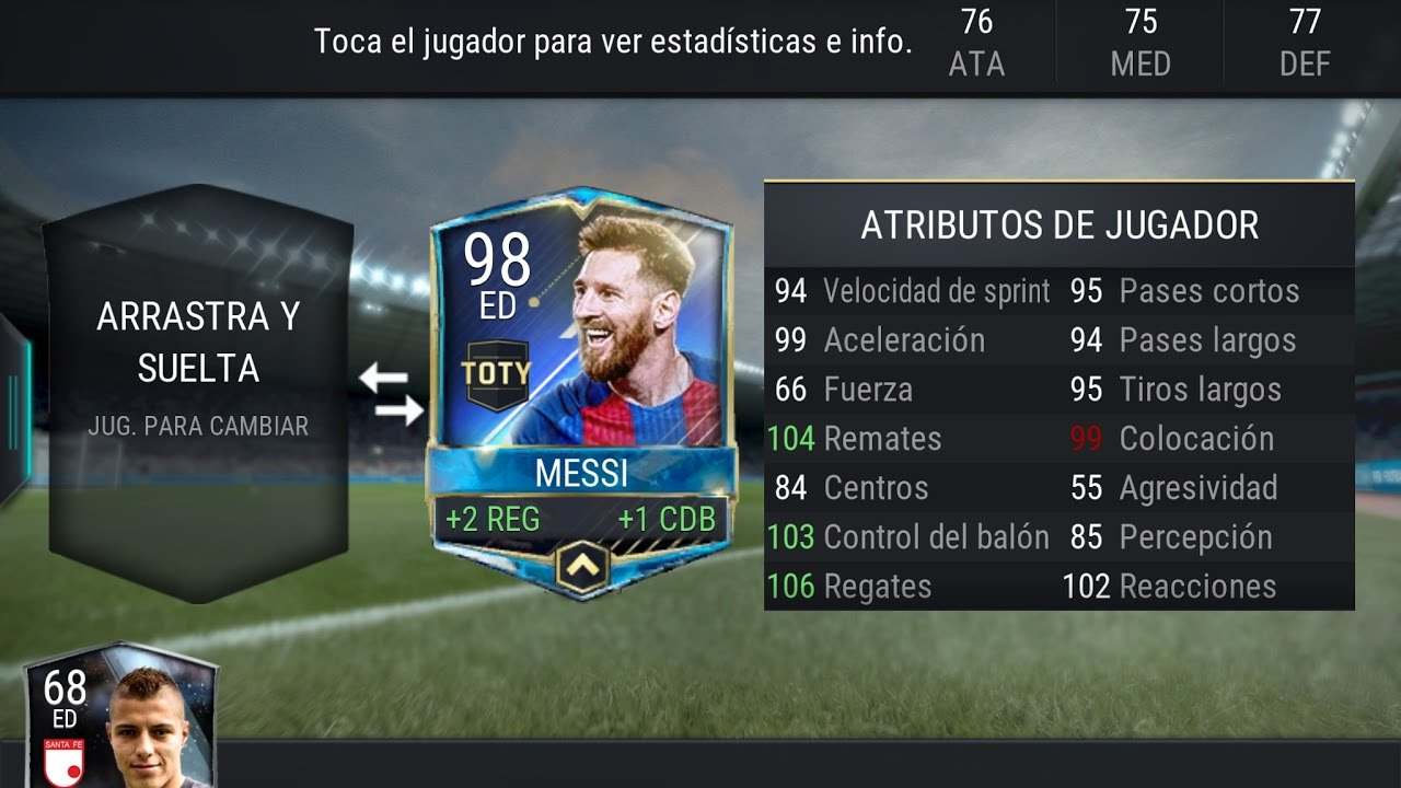 how to get messi in fifa mobile