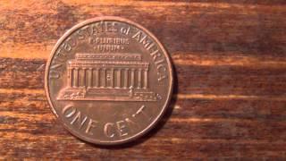 Один цент США/One cent USA
