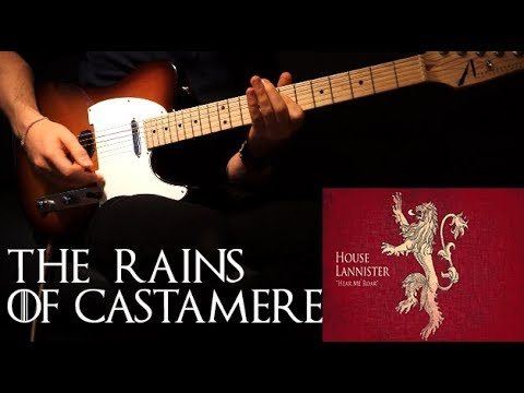 the rains of castamere game of thrones electric guitar cover youtube. Black Bedroom Furniture Sets. Home Design Ideas