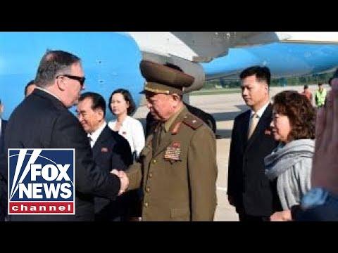 Secretary Pompeo meets North Korea's Kim, US prisoners freed