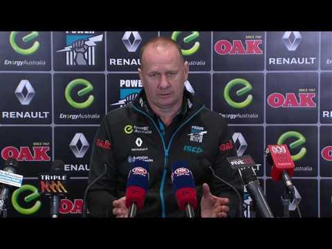 Ken Hinkley post-game v Adelaide - R22, 2016