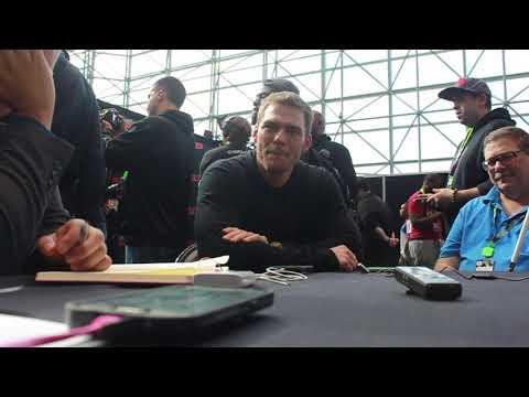 Alan Ritchson talks Titans at NYCC 2018