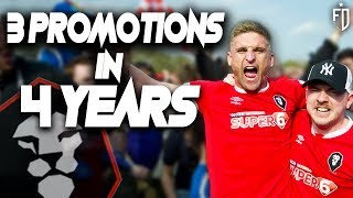 Salford City FC: The Fastest Rising Club In England! | Non-League Vlogs