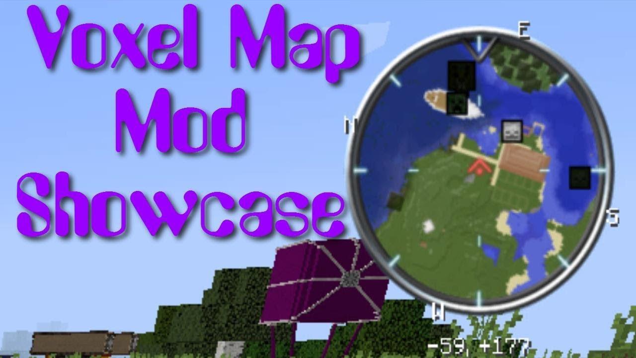 VoxelMap Mod Showcase Minecraft YouTube - Voxelmap para minecraft 1 10 2