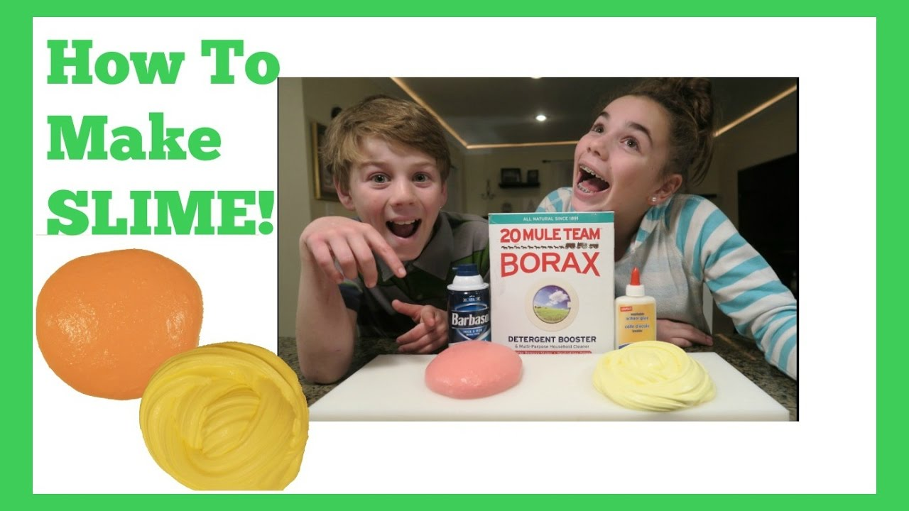 How To Make Fluffy Slime: A Tutorial  Flippin' Katie