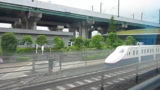 【側面車窓】 大宮総合車両センター⇔試運転線 大宮鉄道ふれあいフェア