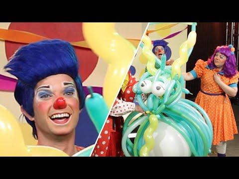 Clowns Compete To Make The Best Balloon Animals