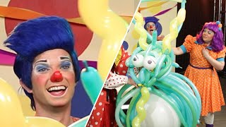 Clowns Compete To Make The Best Balloon Animals