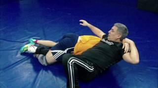 Классный прием в партере (приемы вольной борьбы). freestyle wrestling training