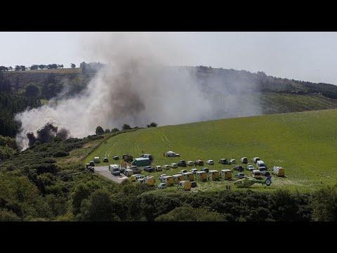euronews (en français): Ecosse : trois mort dans le déraillement d'un train