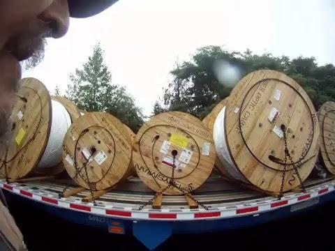 Fiber Optic Cable Load-Jim The Trucker Video Series