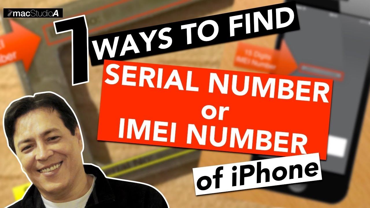how to change iphone imei and serial number