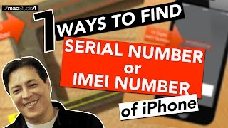 How To Find the Serial Number or IMEI Number of iPhone