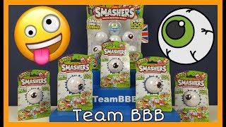 SMASHERS SERIES 2 GROSS! Eyeball smash the ball Zuru RARE Ooze Dudes Smasher Toys for kids Smashes