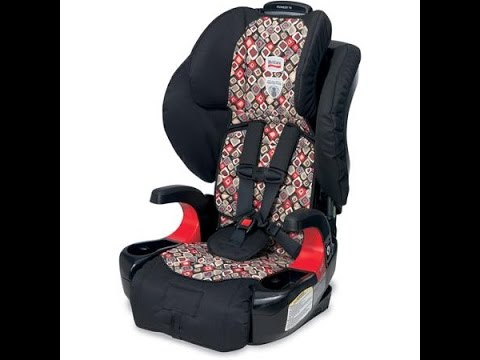 Britax Pioneer 70 Combination Harness 2 Booster Car Seat - YouTube
