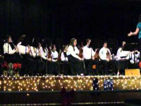 In the Bleak Midwinter. Warwick Veterans High School Band.