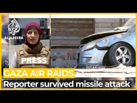 Al Jazeera's Gaza reporter 'miraculously' survives Israeli strike